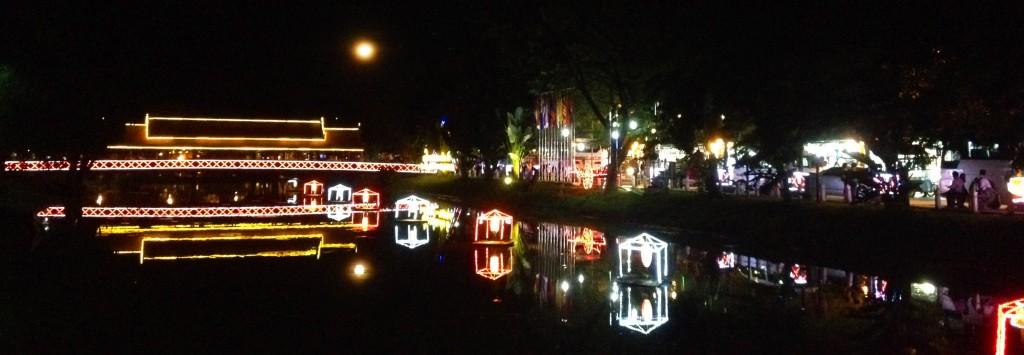 Siem Reap v noci