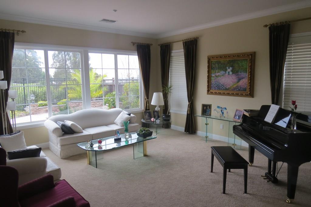 Luxusní dům, ve kterém můj kamarád bydle přes Couchsurfing v San Franciscu