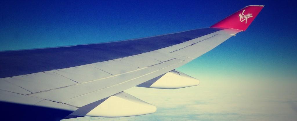 Virgin letadlo
