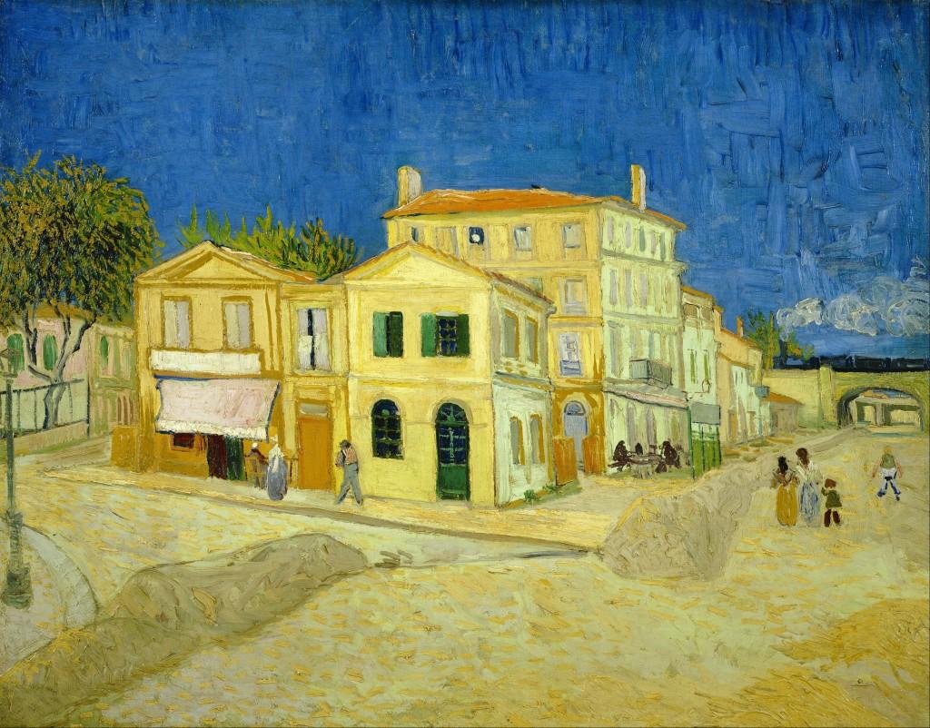 Žlutý dům, kde Gogh a Gauguin v Arles žili