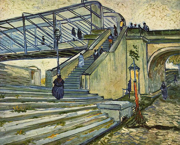 Most Trinquetaille a žena v černém - Rudi