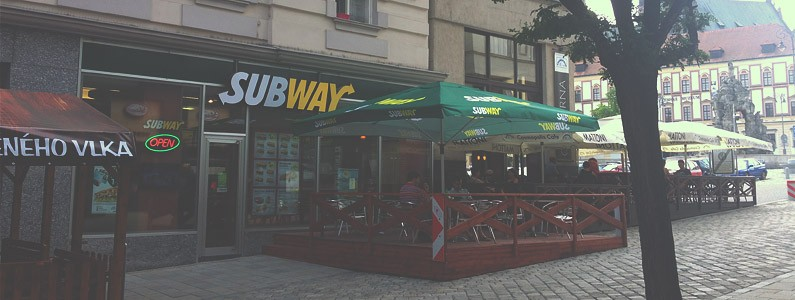Subway slevová kartička