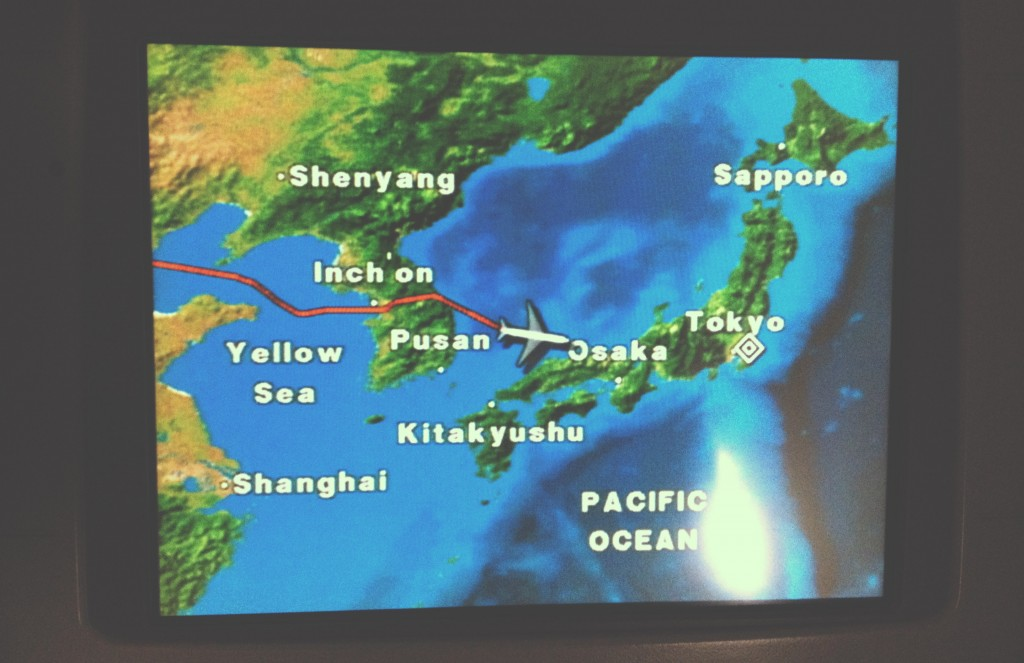 Strategické se vyhnutí Severní Koreji při letu do Tokya