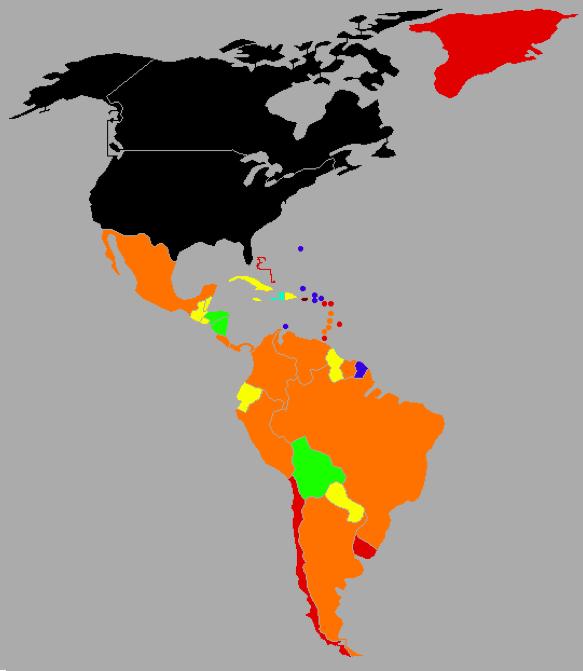 Pokud se vydáváte do Jižní Ameriky, všude bude pro vás levno, pouze pozor na Chile, které je velmi rozvinuté.