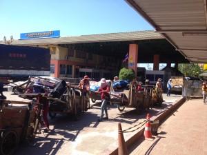 Hraniční město Krong Paoy Paet (Thajsko - Kamodža)