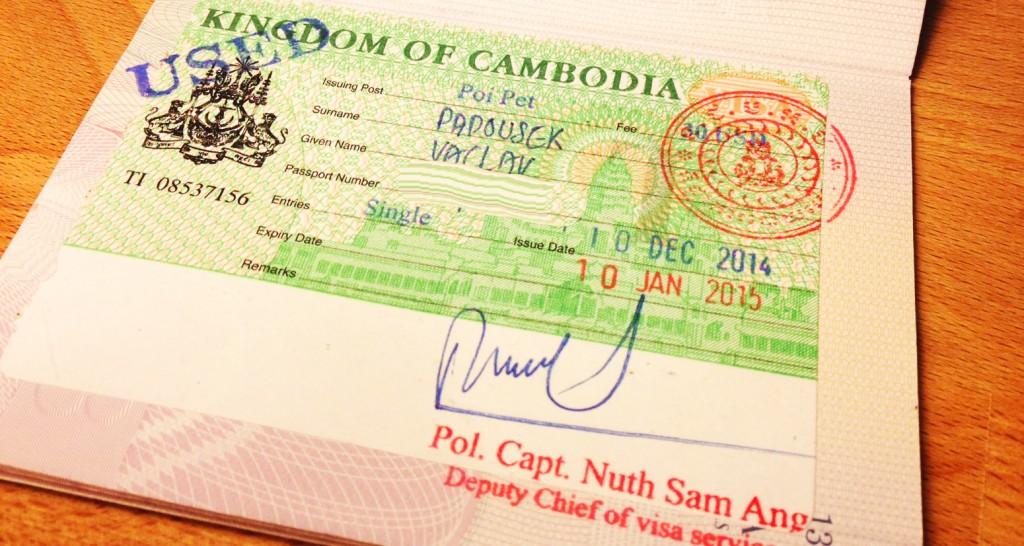 Vízum Kambodža
