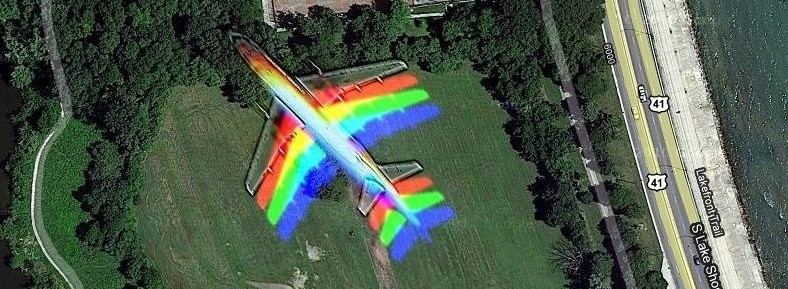 Duhové letadlo