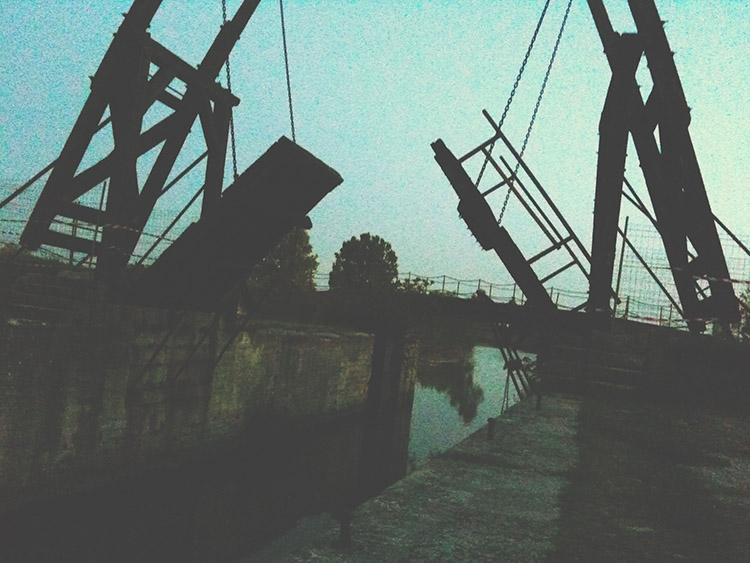 Most Langlois v Arles jednoho letního večera 2010