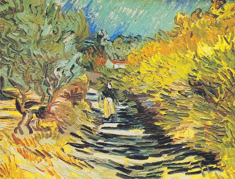 Cesta v Saint-Rémy od Vincenta Van Gogha