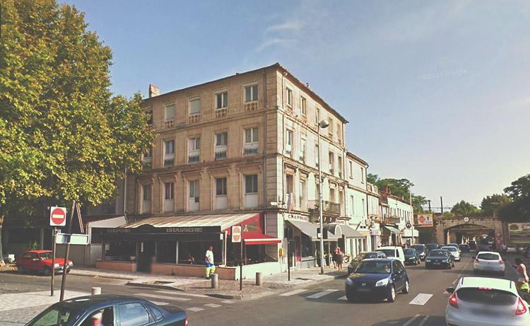 Žlutý dům už nestojí, foto: GoogleStreetview