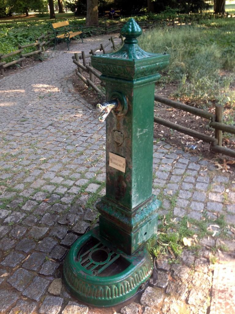 V lužánkách jsou hned tři fontány s pitnou vodou