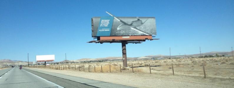 Cesta do Area 51 v Nevadě – část 1