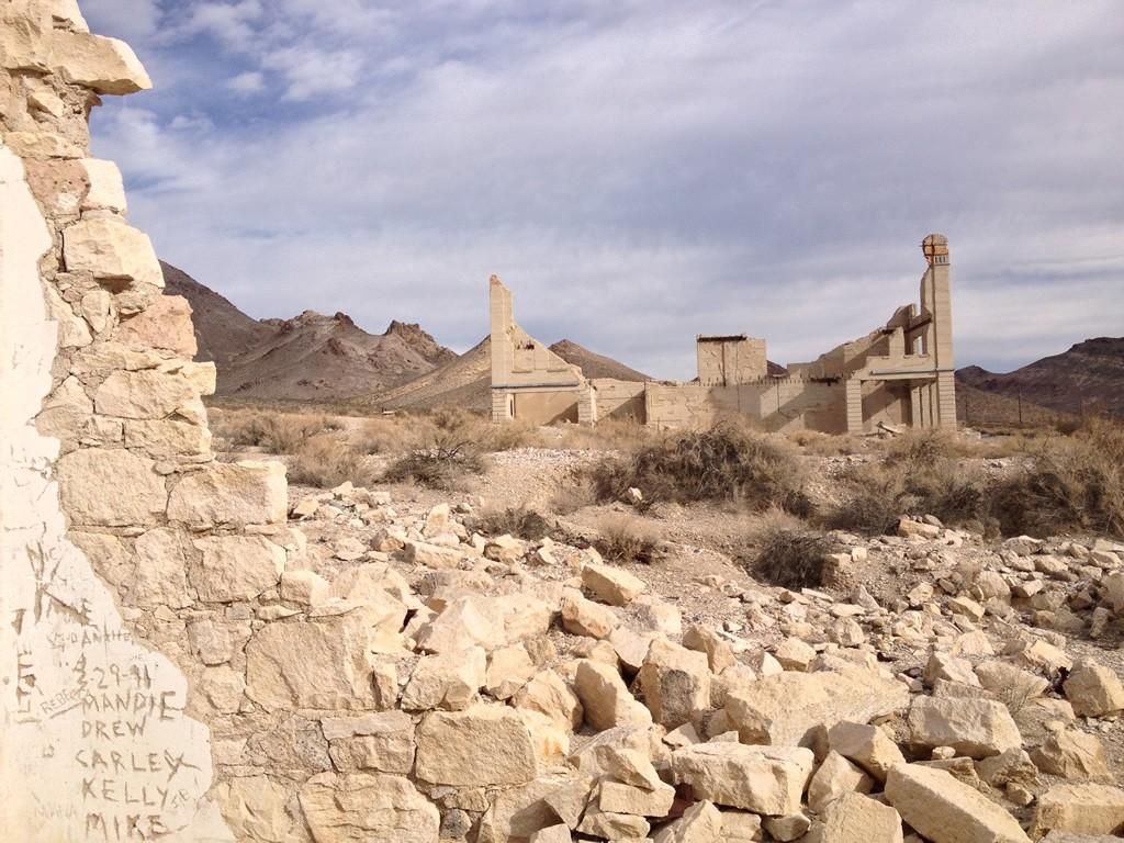 Ghost town někde poblíž Údolí smrti